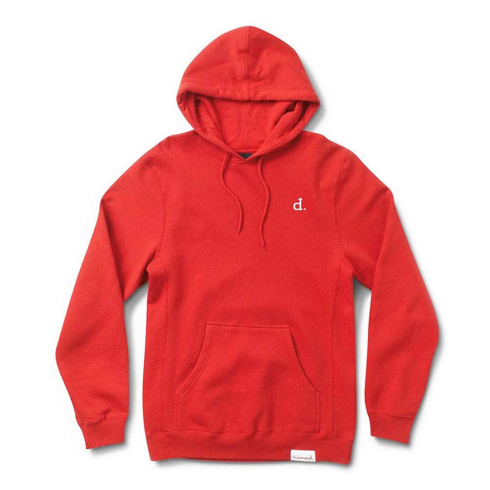 Diamond Supply Co. Mini Un Polo Pullover Hoodie ROT