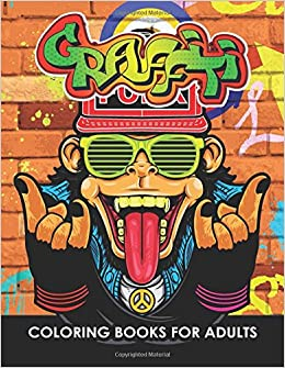 Amazon.com: Graffiti Coloring Books: An Adults Coloring Book ...