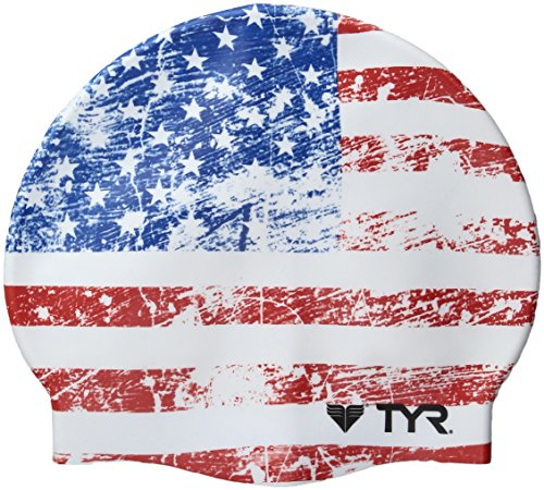 TYR  Old Glory Flag Swimming - Usa Cap Swimming