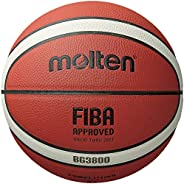 Molten Série BG3800, bola de basquete interno/externo, aprovada pela FIBA, tamanho 7, design de 2 tons, modelo