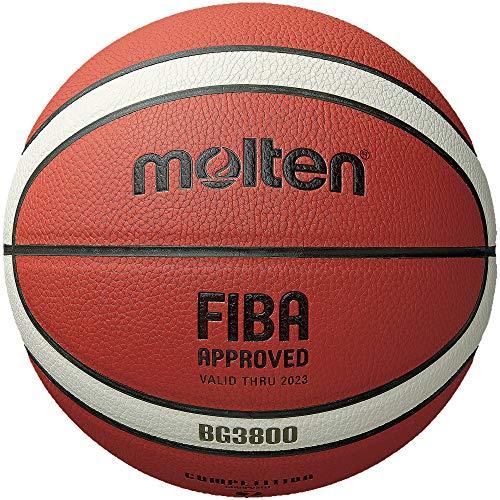 Molten BG3800 Series, Indoor/Outdoor Basketball, FIBA Approved, Size 5