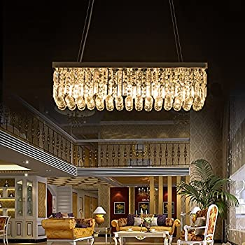 Modern Contemporary Linear Chandelier Lighting Lamp W