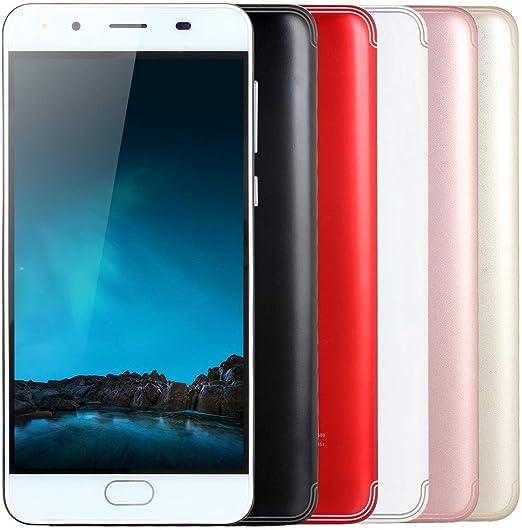 JiaMeng Moviles Libres 4G 5.0Ultradelgado Android 5.1 Cuatro ...