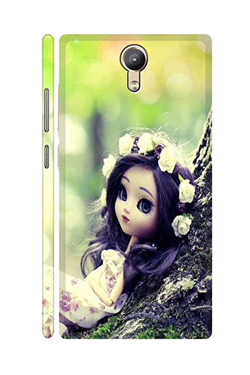 best service ef9ea 7741a SRS Doll 3D Back cover for Lenovo Phab 2: Amazon.in: Electronics