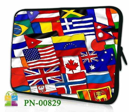 6 Zoll eBook-Reader (z.B. Amazon Kindle Paperwhite / Voyage / Oasis, Tolino Shine 2HD / Vision 3 HD, Kobo Glo HD / Aura, Icarus Ilumina HD, PocketBook Basic 2, Sony PRS-T3) Schutzhülle - sehr hochwertige & edel verarbeitete eReader Tasche aus wasserfesten Neopren mit eingenähter Doppelnaht, premium Reißverschluss und aufwendigen Designeraufdruck! Die Hülle eignet sich für eBook diverser Hersteller bis 165x120mm ( zirka 5,8