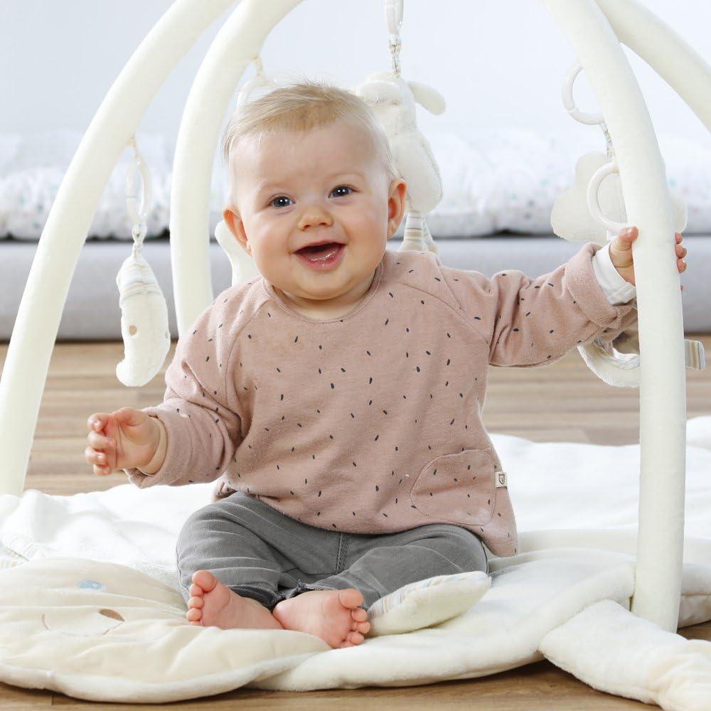 Spiel /& Spa/ß von Geburt an Ma/ße: 105 x 100 cm Fehn 064087 3-D-Activity-Decke Australia Spielbogen mit 5 abnehmbaren Spielzeugen