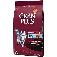 Ração para Gatos Castrados Gran Plus Gourmet Atum e Arroz 10,1Kg