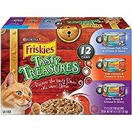 Purina Friskies Tasty Treasures Variety Pack Cat Food - (12) 4.12 lb. Box