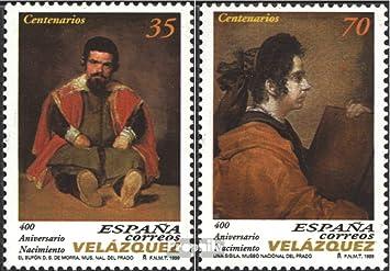 Prophila Collection España Michel.-No..: 3491-3492 (Completa.edición.) 1999 velázquez (Sellos para los coleccionistas): Amazon.es: Juguetes y juegos