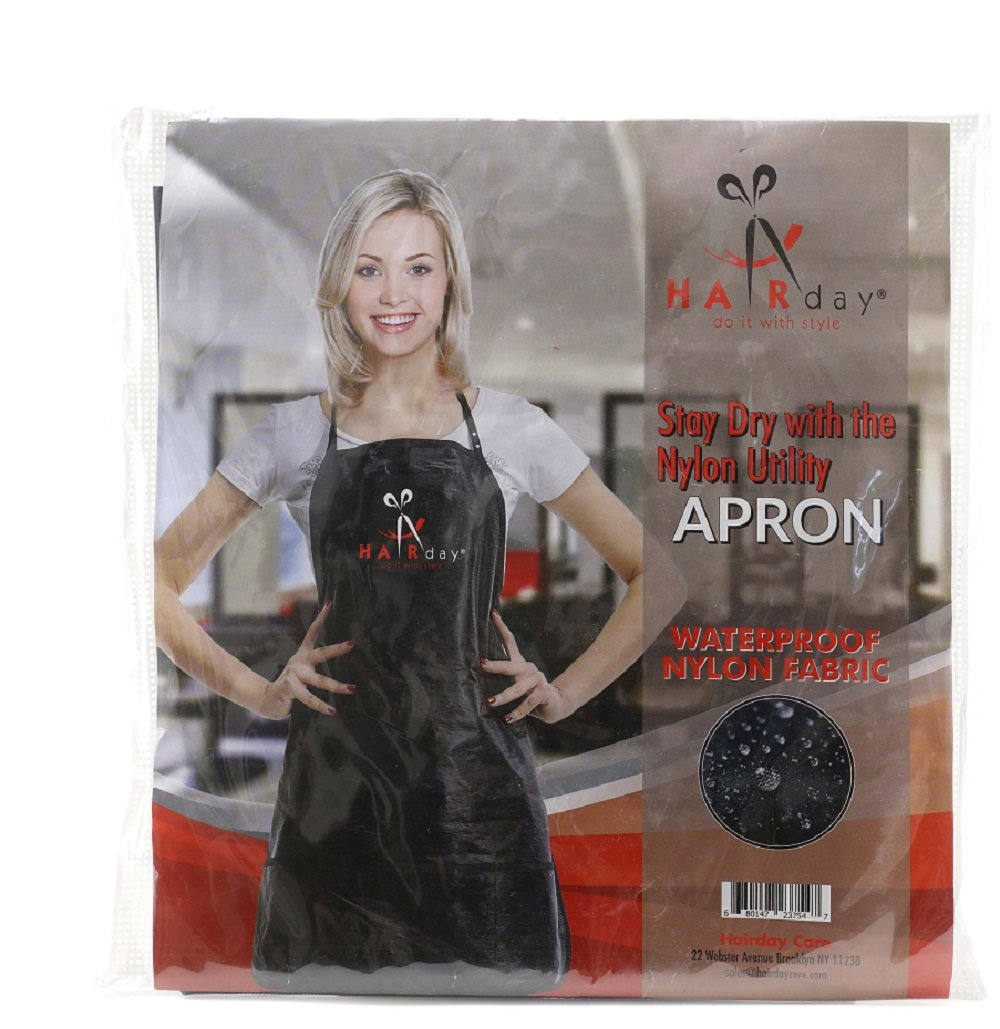 Hair Styling Bib Apron for Barber Shop & Salon Use, Water Proof, Color Proof & Bleach Proof, Quality Nylon Apron by Hairday Care Professionals by HairDay Care (Image #2)