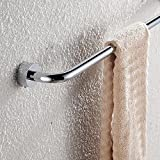 SSBY 60cm in bathroom Towel Bar towel copper forming one end of round Towel rack bathroom accessories