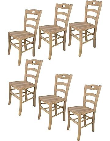 Tommychairs sillas de Design - Set de 2 sillas clásicas Savoie 38 para Cocina, Comedor