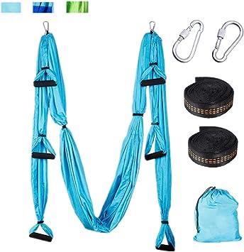 Aerial Yoga-tuch Blau von Yogaluft