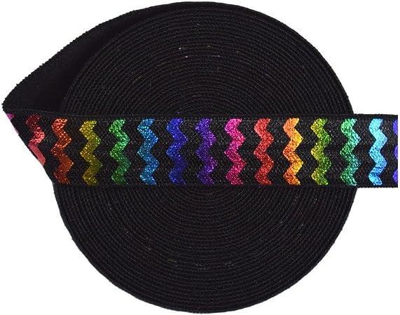 Rainbow Chevron Headband