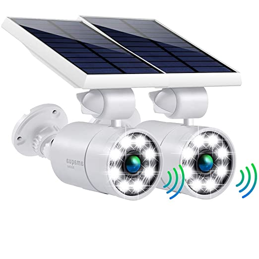 Amazon.com: Luces solares con sensor de movimiento para ...