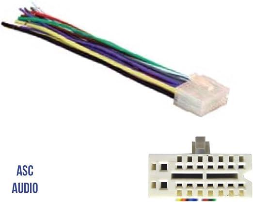 Amazon.com: ASC Audio Car Stereo Radio Wire Harness Plug for Select Clarion  16 Pin Radios- XDZ616,CZ100,Z101,CZ200,CZ201, CZ300,CZ301,CZ401,CZ500,CZ501  + MoreAmazon.com