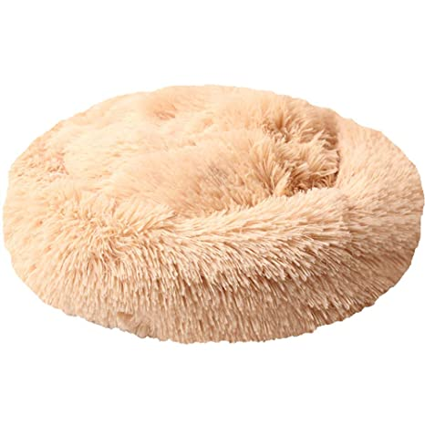Lamzoom Cama para Mascotas para Perros pequeños y medianos Cama Gatos Suave Felpa algodón cojín Mascota