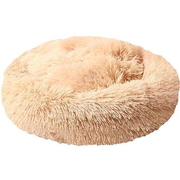 Lamzoom Cama para Mascotas para Perros pequeños y medianos Cama Gatos Suave Felpa algodón cojín Mascota Cama para Cachorro Gato Lavable Antideslizante cojín ...