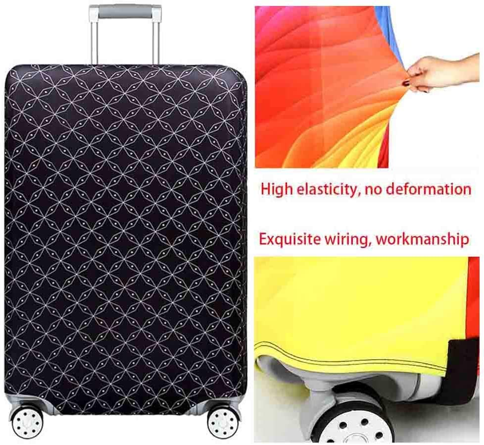 Suitcase Cover Pull Bar Box 18-32 Inch Oxford Cloth Anti-Skid Dust Protection Cover Travel Shockproof Anti-Theft Protective Cover