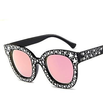 YOGER Gafas De Sol Diseñador Pentagrama Gafas De Sol Mujeres ...