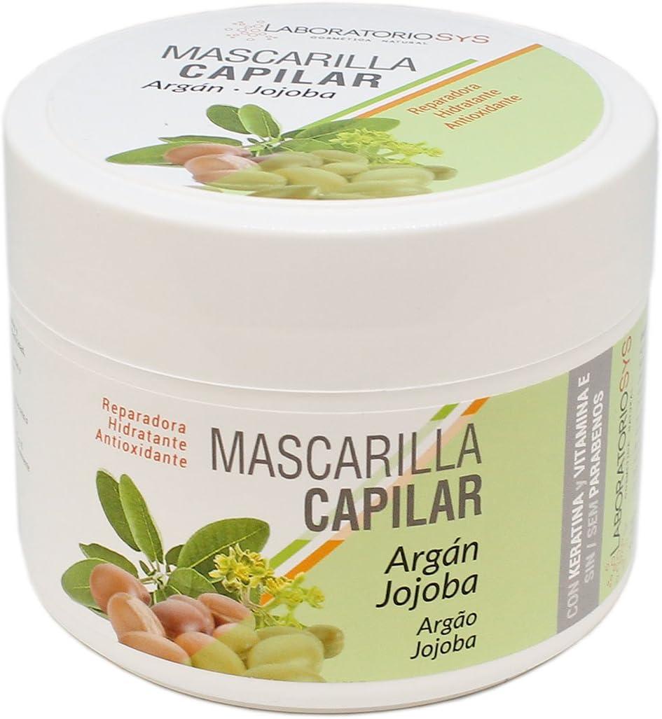 Laboratorio SyS, Mascarilla de pelo (Blanco) - 250 ml.
