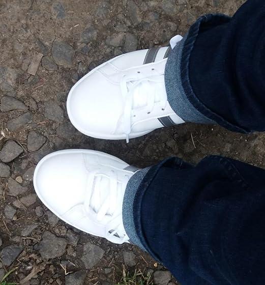 adidas Women's Cloudfoam Advantage Cl Sneaker In love!