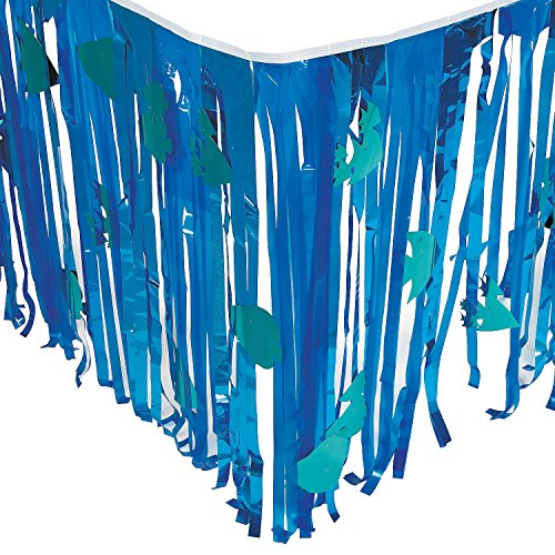 Under the Sea Tableskirt with Cutouts 2 pack by Fun Express