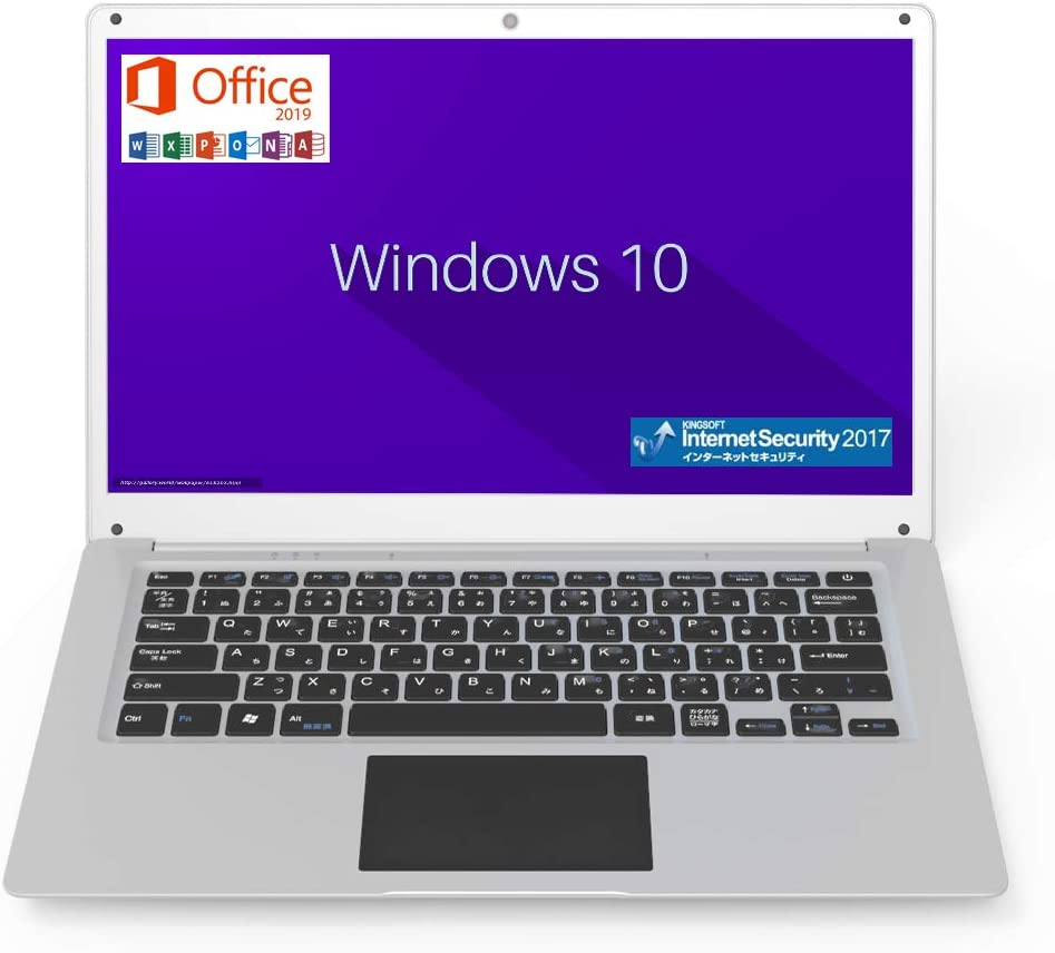 GLM ノートパソコン Microsoft Office 2019 / Windows 10 / INTEL x5-Z8350