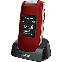 Easyfone Prime A1 3G Flip Teléfono para Personas