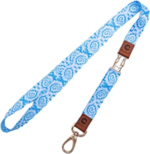 Chirper Keychain Lanyard Large Size, Detachable 2-Piece, for Wearing on Wrist or Around Neck, Used for Holding Keys, Identification Badge, car Key, Mobile Phone