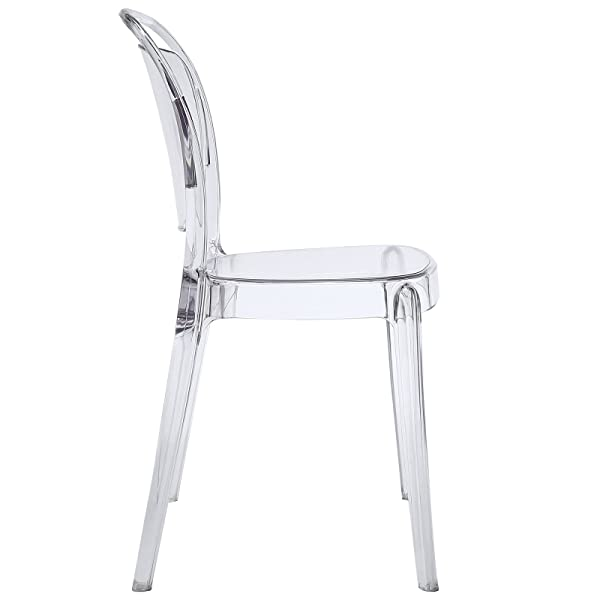 Modway Entreat Dining Chair, Clear