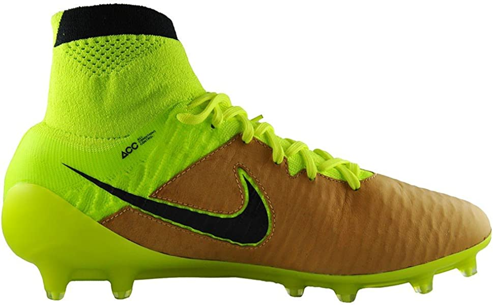 865042fbe7bc Magista Obra Tech Craft FG-Canvas Volt Black. Nike Men s Magista Obra  Leather Firm Ground Soccer Shoes ...