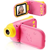 Cámara Digital para Niños Juguete para Niños Regalos Cámara De Vídeo A Prueba De Choques Pantalla HD de 2.4 Pulgadas…