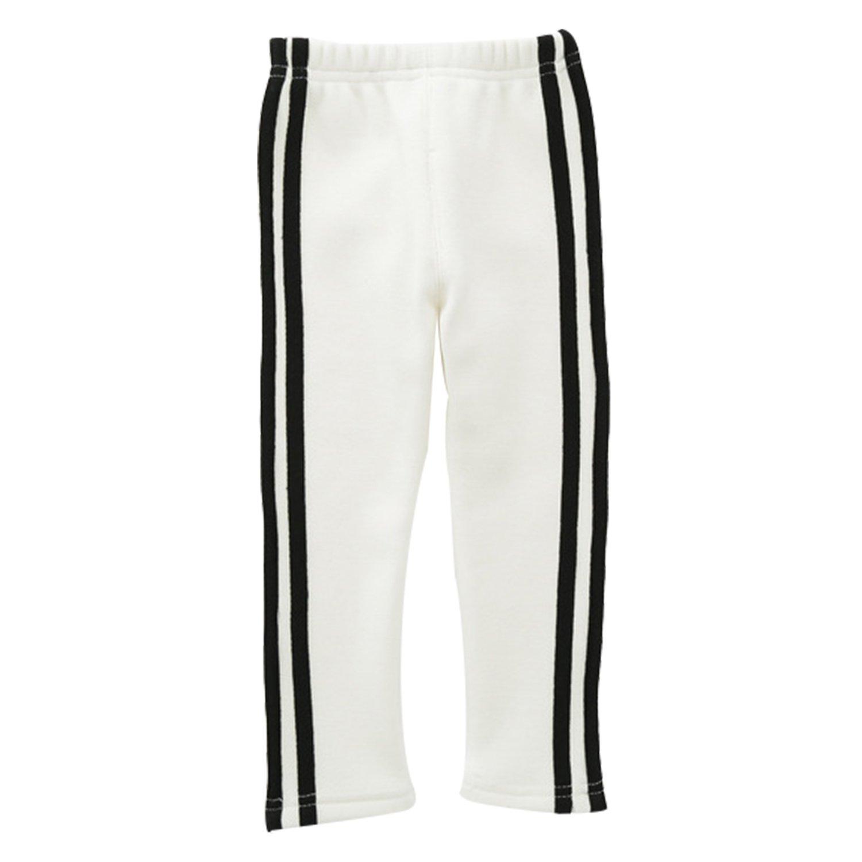 CHIC-CHIC Pantalons Velours Enfant Bébé Fille Garçon Sport Casual Fashion Trending Long Chaud Confort Souple Swag