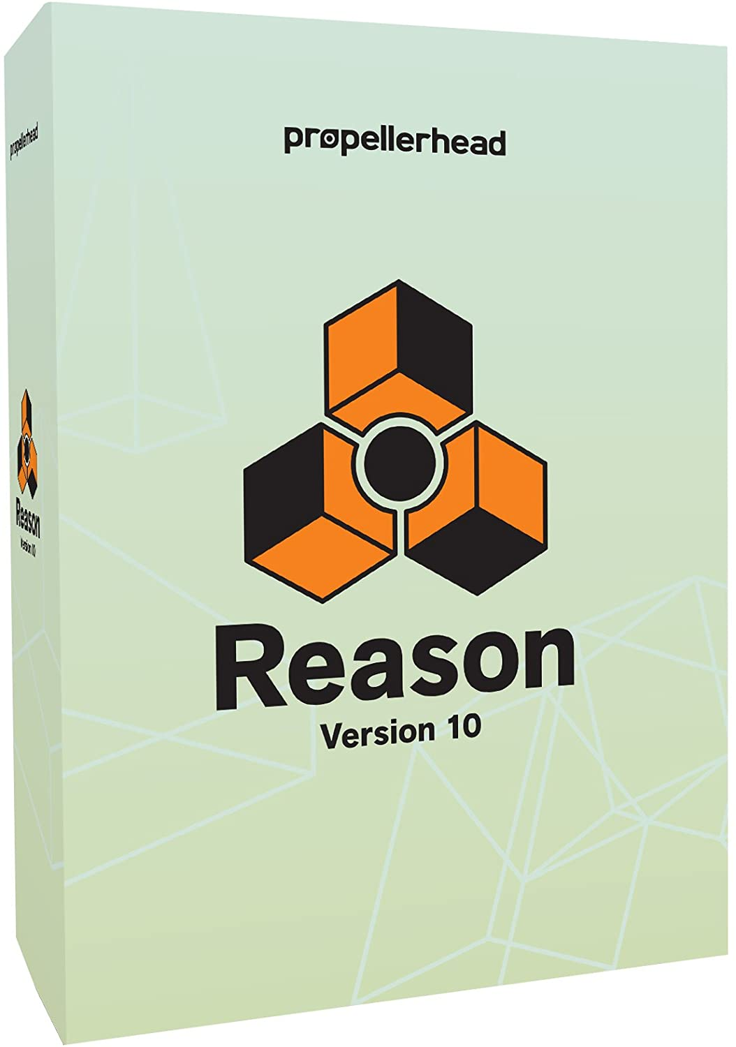 front facing Propellerhead Reason 10
