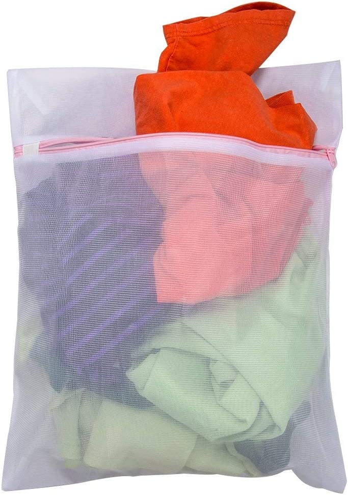 Medias /Bolsas para Ropa Sucia Tenn Well/ Color Blanco Reutilizable de Malla de lavander/ía Bolsa de Lavado con Cremallera Sujetador Medias Ropa Interior Calcetines Ropa de beb/é