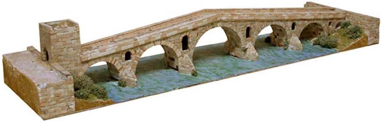 Aedes 1203 Maqueta Puente de la Reina Navarra Construccion de ladrillos
