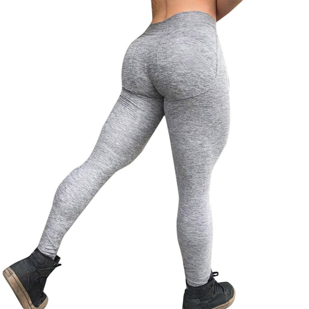 Morwind Abbigliamento Fitness Donna Pantaloni A Matita Tuta Donna Yoga  Leggings Sportivi Donna Allenamento Leggings Fitness Sport Palestra In  Esecuzione ... 51fae537ed1f