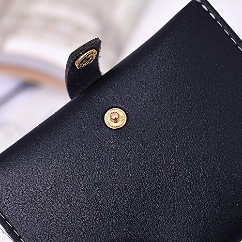 Women's short wallet Summer new women's short wallet Simple and slim female small wallet, green by YIUXB (Image #3)