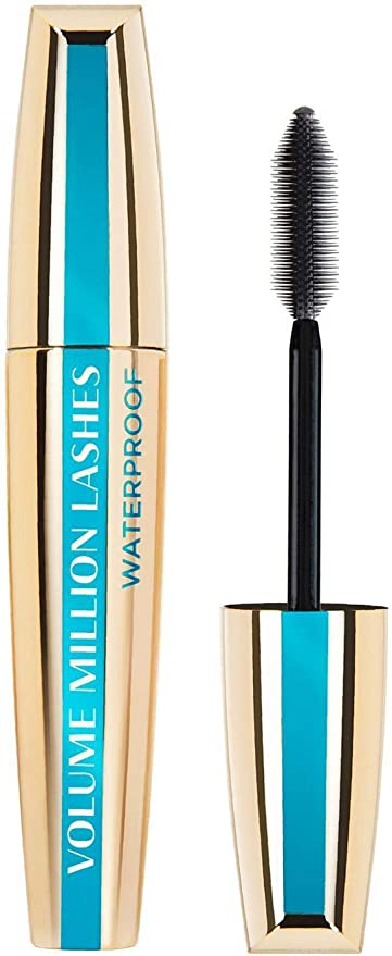 Oferta amazon: L'Oréal Paris Millón de Pestañas Máscara de Pestañas Waterproof volumen definido, 9.4 ml