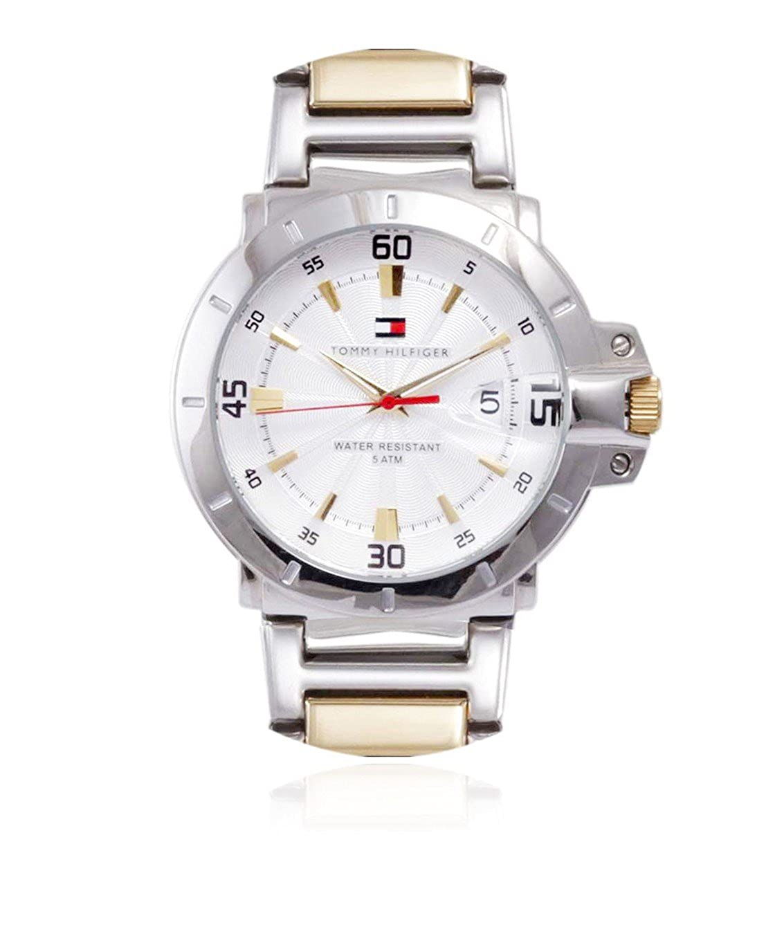 Buy Tommy Hilfiger Analog Silver Dial Men S Watch Th1790514