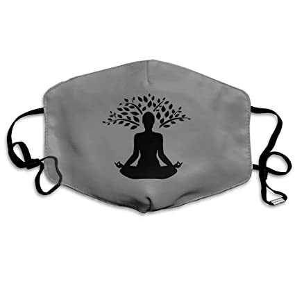 Amazon.com: Mouth-Muffle Face Mask Unisex Yoga Adjustable ...