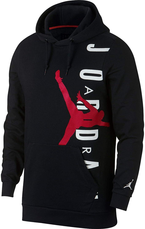 Black//Gym Red Nike Jumpman Air Lwt Po Uomo L