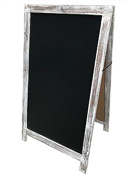 ChicSlate A-frame - Pizarra doble cara, extra grande, 44 x ...