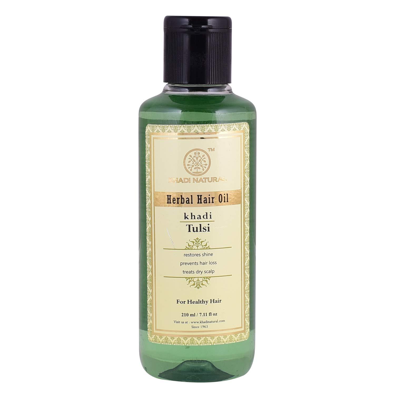 Khadi Natural Tulsi Herbal Hair Oil, 45ml