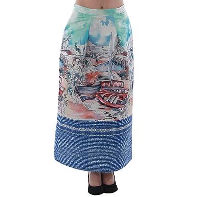 Rinascimento Falda Estampada S: Amazon.es: Ropa y accesorios