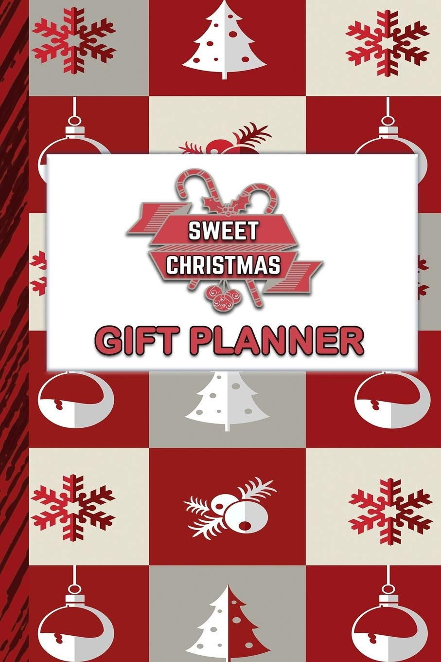 Family Christmas Gift Lists.Sweet Christmas Gift Planner Detailed Planner And List For