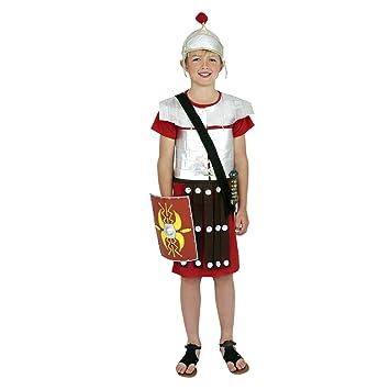 ROMAN GREEK SOLDIER WARRIOR BOYS FANCY DRESS COSTUME 10 12