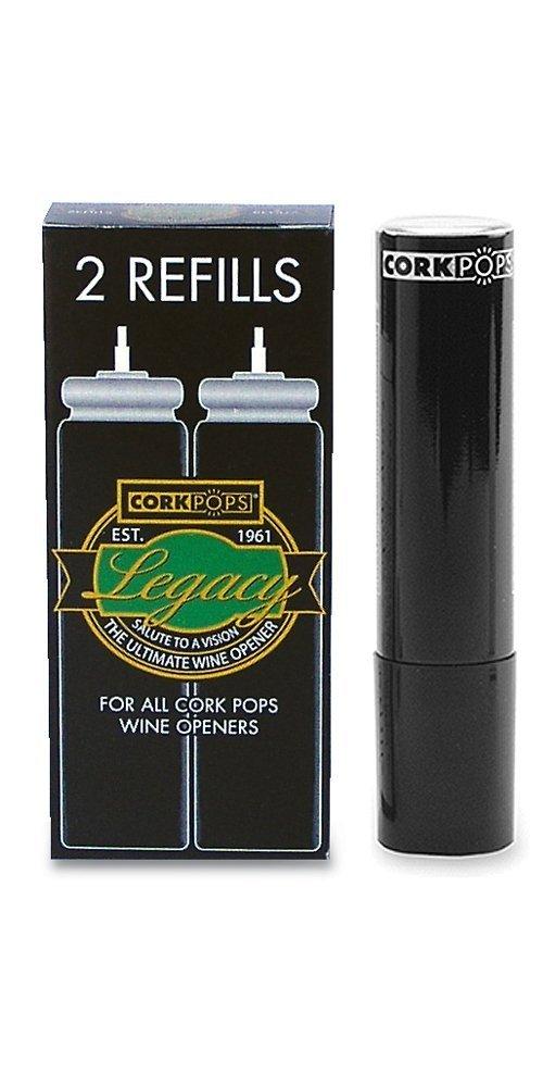 Cork Pops Refill Cartridges, 2-Pack (2, 2 Pack)