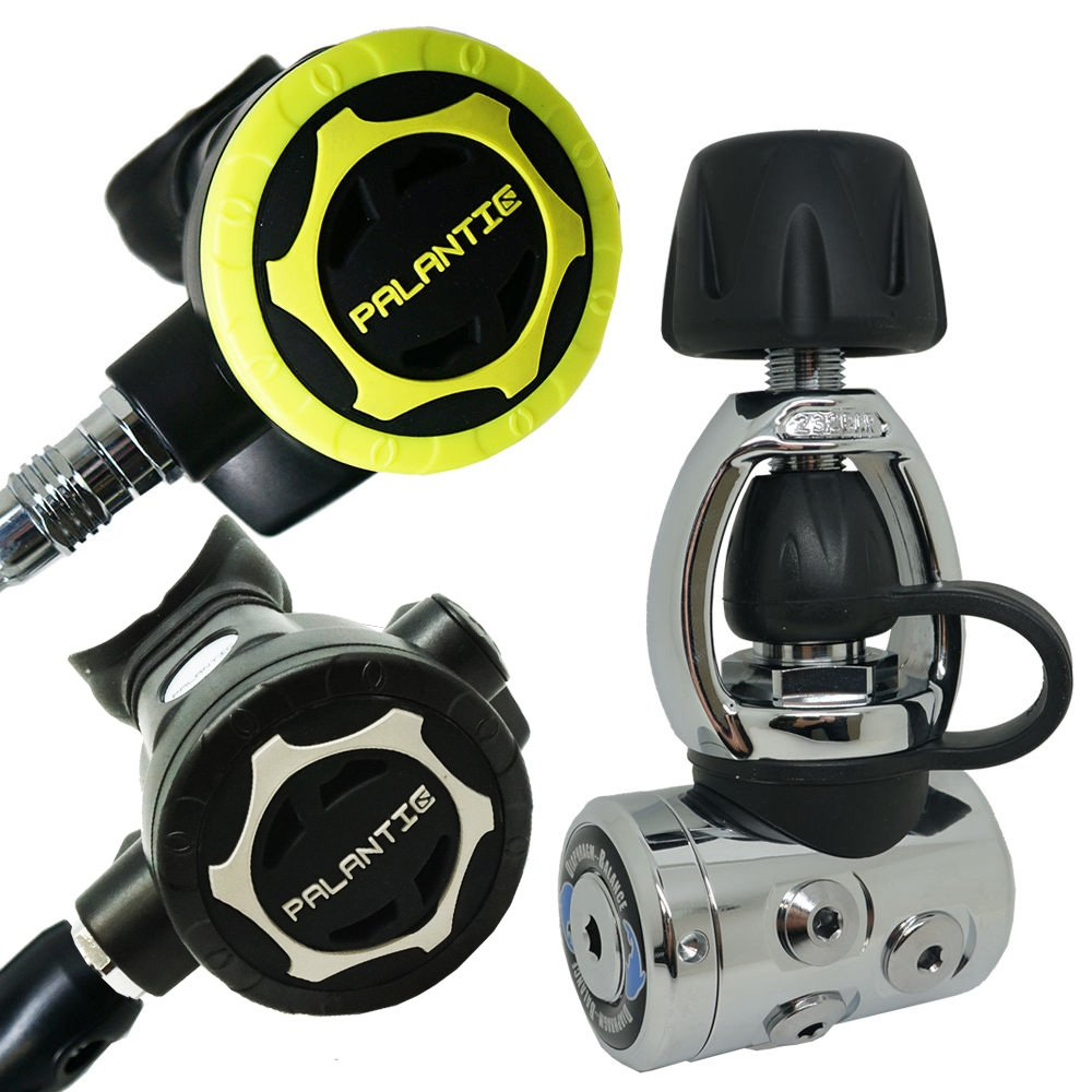 Palantic AS105 YOKE Diving Dive Regulator and Octopus Combo by Palantic